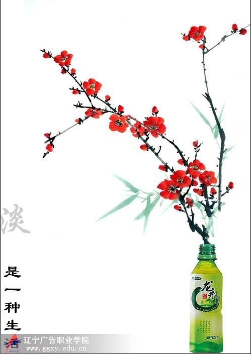 辽宁广告职业学院>>>设计作品>>> 娃哈哈(龙井绿)-淡